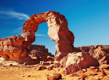 parch: Bizarre rocks in Sahara Desert, Tadrart, Algeria