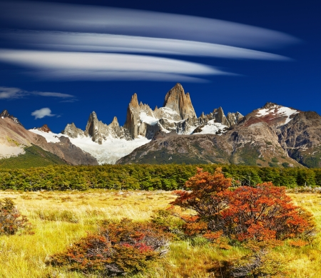 Mount Fitz Roy, Los Glaciares National Park, Patagonia, Argentina photo