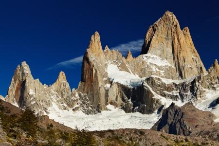 fitzroy: Mount Fitz Roy, Patagonia, Argentina Stock Photo