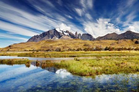 pain�: Torres del Paine National Park, Patagonia, Cile
