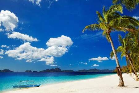 tropical beach: Tropical beach, South China See, El-Nido, Philippines
