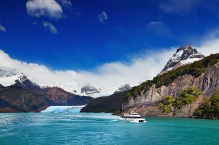 Spegazzini 氷河、アルヘンティーノ湖、パタゴニア、アルゼンチン 写真素材