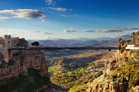 コンスタンティンは、橋の都市アルジェリア