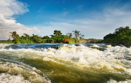 uganda: White Nile, Bujagali Falls, Uganda