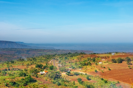 uganda: African landscape, countryside of Uganda