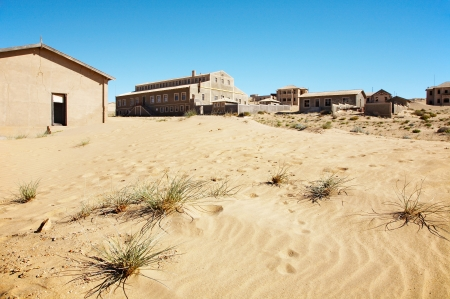Kolmanskop Ghost Town in Namib Desert, Namibia photo