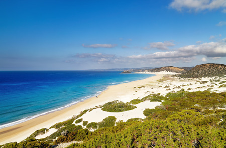 Golden Beach the best beach of Cyprus, Karpas Peninsula, North Cyprus photo