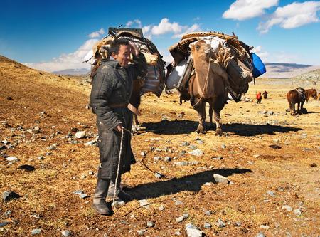 nomadism: Mongolian nomads Editorial