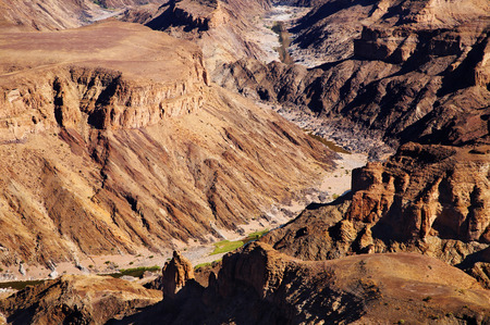 parch: Fish River canyon- the second largest canyon in the world, South Namibia