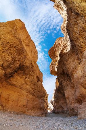 parch: Sesriem Canyon in Namib Desert, Namibia Stock Photo