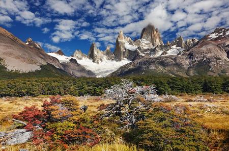 Mount Fitz Roy, Los Glaciares National Park, Patagonia, Argentina photo