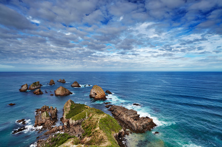 nugget: Nugget Point, Catlins Coast, New Zealand