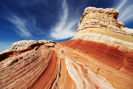 vermilion: White Pocket rock formations, Vermilion Cliffs National Monument, Arizona, USA