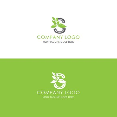 This logo is inspired by leaves, Has a S modified alphabet shape, leaves become additional ornaments to beautify and show the natural side of this logo