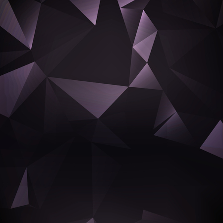 diamond shaped: Dark purple polygonal illustration, which consist of triangles. Triangular design for your business.
