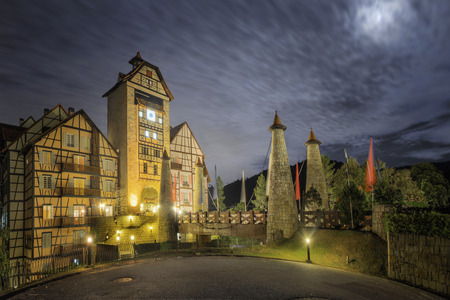 Colmar Tropicale Berjaya Hills of the night day photo