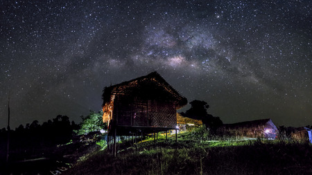 milkyway: light of the darkness - amazing milkyway on campsite kg Chuweh, Royal Belum