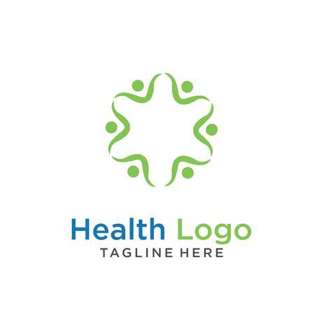 modern Creative dental care clean blue teeth logo vector