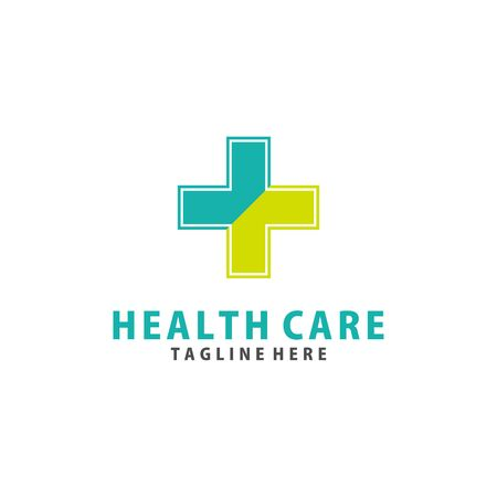 simple Health care medical logo vector Logo