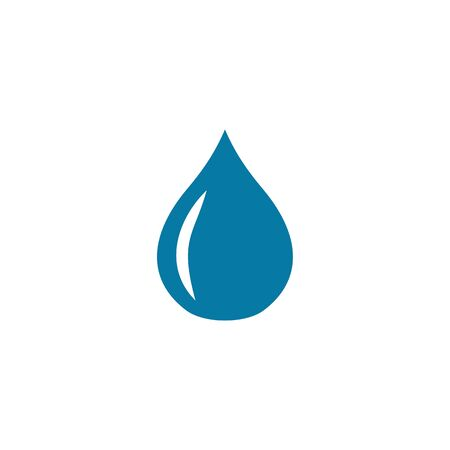 oil or water logo design vector