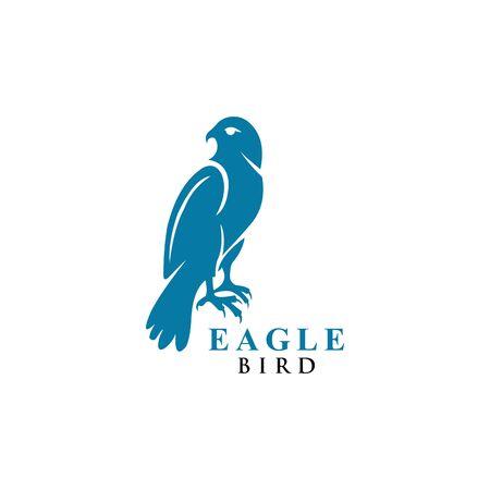 eagle bird logo design vector