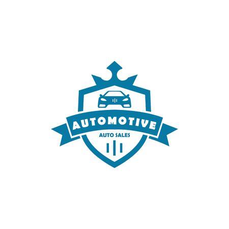 Car automotive emblem logo vector illustration Ilustração