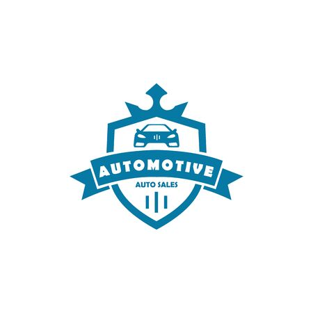 Car automotive emblem logo vector illustration Illustration