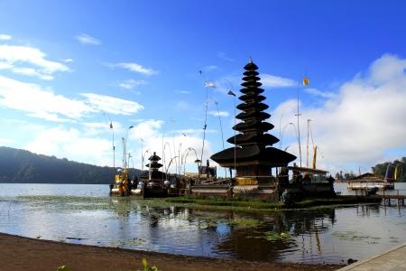 ubud: Ubud Temple in Bali Stock Photo