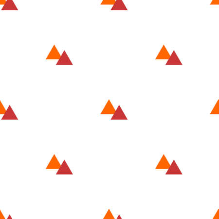 Seamless pattern geometric of two triangles that are lined up sideways. suitable for backgrounds, covers, fabrics, fashion, etc.