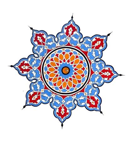 Malerei Pattern Standard-Bild