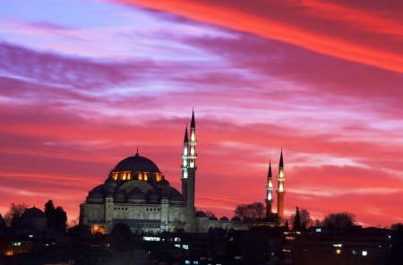 historical reflections: Suleymaniye Mosque in Istanbul