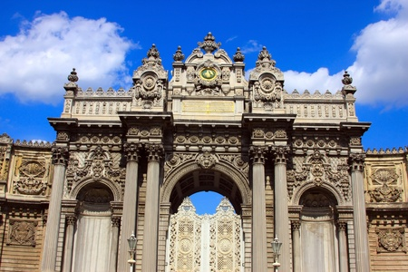 mehmed: Gate of Dolmabahce Palace, Istanbul