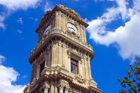 Clock Tower, Dolmabahce Palace, Istanbul photo