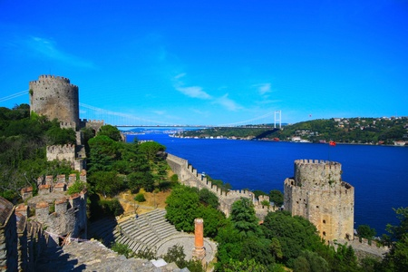 rumeli: Bosphorus Bridge view from Rumeli Castle