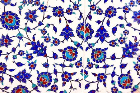 osmanisch: Alte handgefertigte t�rkische Fliesen