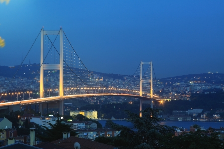 Istanbul Bosphorus Bridge  photo