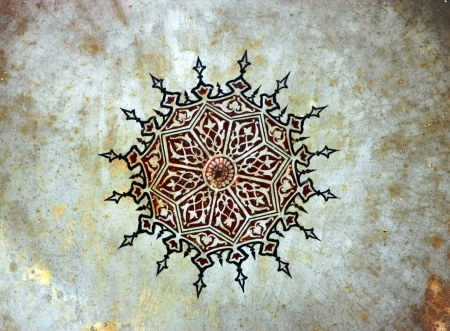 Painting Pattern, painted in 1506, Istanbul