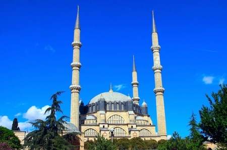 edirne: Selimiye Mosque in Edirne, Turkey