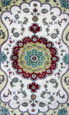 깔개: 터키어 카펫의 질감 스톡 사진