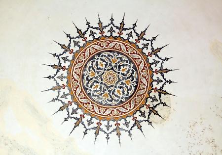 Ottoman Style Painting Pattern
