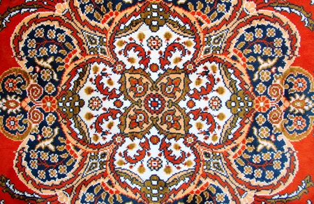turkish rugs: Texture of Turkish Carpet