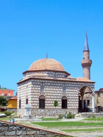iznik: Mosque and minaret of Iznik the ancient Byzantine city of Council of Nicea, Turkey