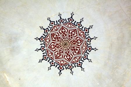 Ottoman Style Painting Pattern photo