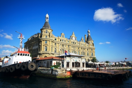 haydarpasa: Old Haydarpasa Train Station Editorial