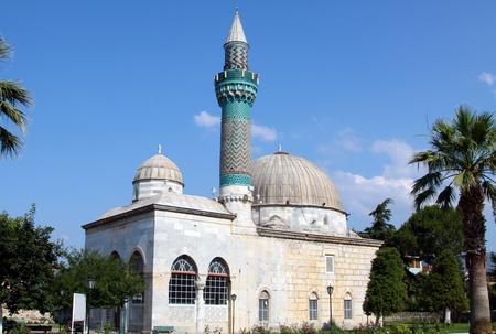 iznik: Ancient Green Mosque in Iznik (Nicaea), Turkey