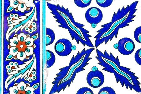 Alte türkische Tile Standard-Bild