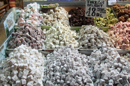 national fruit of china: Turkish Delight (Lokum)