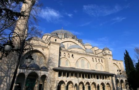 suleymaniye: Exterior view of Suleymaniye Mosque