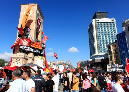 occupy movement: Taksim Gezi Park Protests