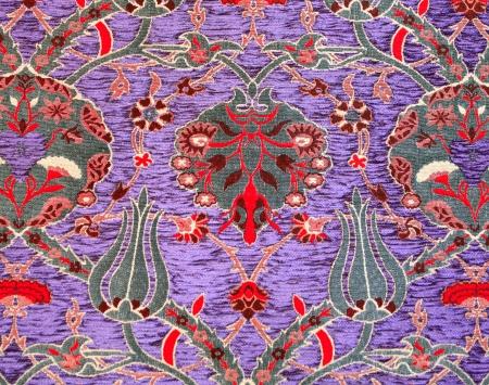 Texture of Turkish Carpet photo